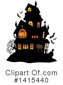 Halloween Clipart #1415440 by visekart