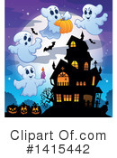 Halloween Clipart #1415442 by visekart