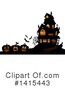 Halloween Clipart #1415443 by visekart
