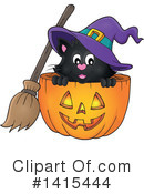 Royalty-Free (RF) Halloween Clipart Illustration #1415444