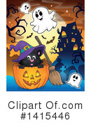 Halloween Clipart #1415446 by visekart