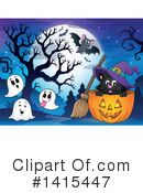 Halloween Clipart #1415447 by visekart