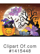 Halloween Clipart #1415448 by visekart