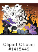 Halloween Clipart #1415449 by visekart