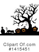 Royalty-Free (RF) Halloween Clipart Illustration #1415451
