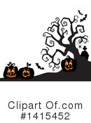 Halloween Clipart #1415452 by visekart