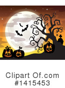 Halloween Clipart #1415453 by visekart