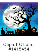 Halloween Clipart #1415454 by visekart