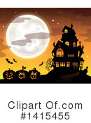 Halloween Clipart #1415455 by visekart