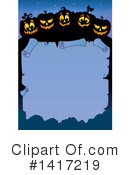 Halloween Clipart #1417219 by visekart