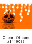 Halloween Clipart #1419093 by KJ Pargeter