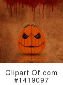 Halloween Clipart #1419097 by KJ Pargeter