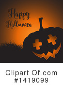 Halloween Clipart #1419099 by KJ Pargeter