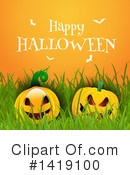 Halloween Clipart #1419100 by KJ Pargeter