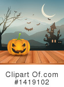 Halloween Clipart #1419102 by KJ Pargeter