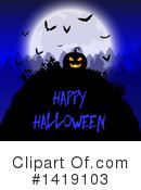 Halloween Clipart #1419103 by KJ Pargeter