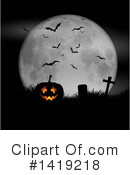 Halloween Clipart #1419218 by KJ Pargeter