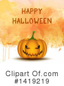 Halloween Clipart #1419219 by KJ Pargeter
