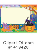 Halloween Clipart #1419428 by visekart
