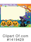 Halloween Clipart #1419429 by visekart