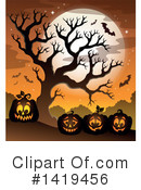 Halloween Clipart #1419456 by visekart
