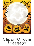 Halloween Clipart #1419457 by visekart