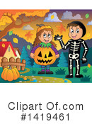 Halloween Clipart #1419461 by visekart