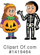 Halloween Clipart #1419464 by visekart