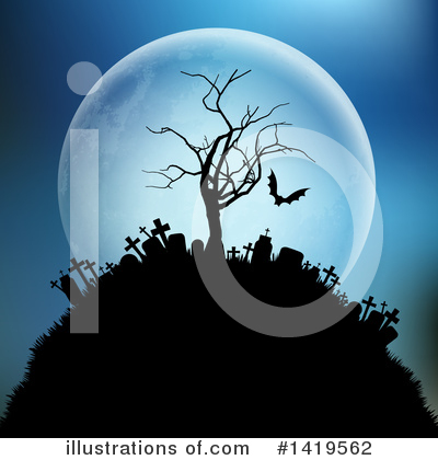 Halloween Clipart #1419562 by KJ Pargeter