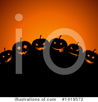 Halloween Clipart #1419572 by KJ Pargeter