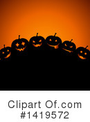 Royalty-Free (RF) Halloween Clipart Illustration #1419572