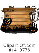 Halloween Clipart #1419776 by merlinul