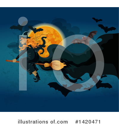 Halloween Clipart #1420471 by Vector Tradition SM
