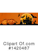 Halloween Clipart #1420487 by Vector Tradition SM