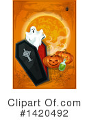 Royalty-Free (RF) Halloween Clipart Illustration #1420492