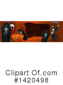 Halloween Clipart #1420498 by Vector Tradition SM