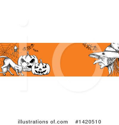 Witch Clipart #1420510 by Vector Tradition SM