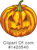 Halloween Clipart #1420540 by Vector Tradition SM