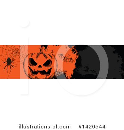 Royalty-Free (RF) Halloween Clipart Illustration by Vector Tradition SM - Stock Sample #1420544