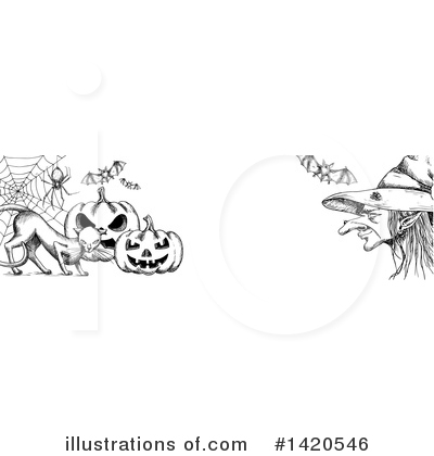 Witch Clipart #1420546 by Vector Tradition SM