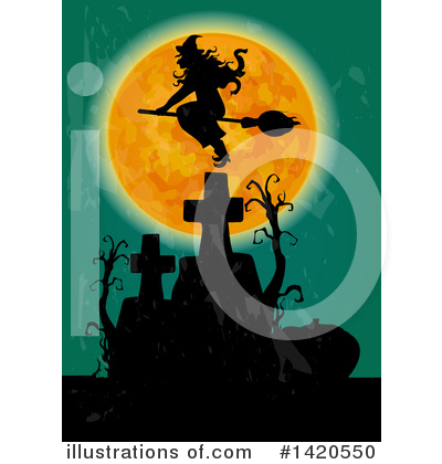 Witch Clipart #1420550 by Vector Tradition SM