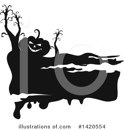 Royalty-Free (RF) Halloween Clipart Illustration by Vector Tradition SM - Stock Sample #1420554
