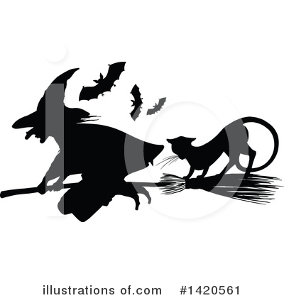 Witch Clipart #1420561 by Vector Tradition SM