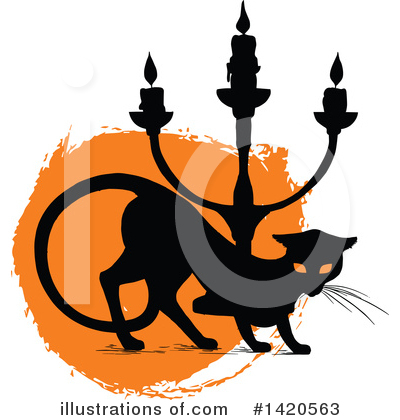 Cat Clipart #1420563 by Vector Tradition SM