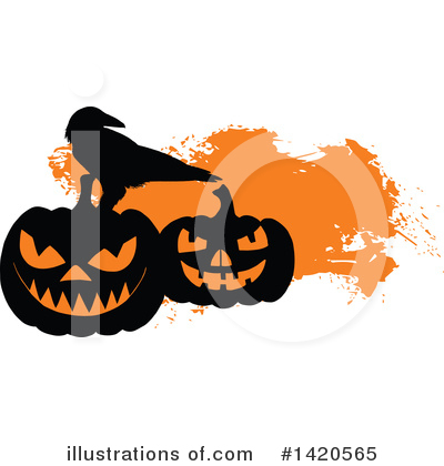 Pumpkin Clipart #1420565 by Vector Tradition SM