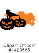 Halloween Clipart #1420565 by Vector Tradition SM
