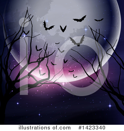 Royalty-Free (RF) Halloween Clipart Illustration by KJ Pargeter - Stock Sample #1423340