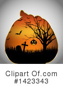 Halloween Clipart #1423343 by KJ Pargeter
