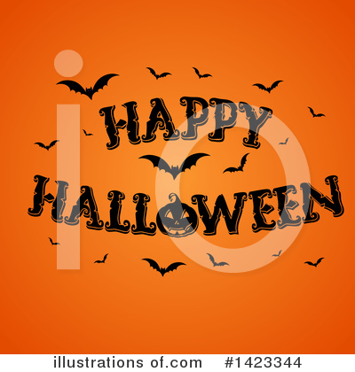 Royalty-Free (RF) Halloween Clipart Illustration by KJ Pargeter - Stock Sample #1423344