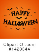 Royalty-Free (RF) Halloween Clipart Illustration #1423344